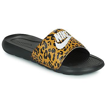 Cipők Női strandpapucsok Nike Nike Victori Print (Name Not Legal) Barna / Fekete