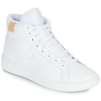 Cipők Női Rövid szárú edzőcipők Nike COURT ROYALE 2 MID Fehér