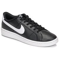 Cipők Női Rövid szárú edzőcipők Nike Court Royale 2 Fekete  / Fehér