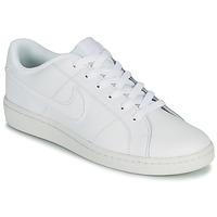 Cipők Férfi Rövid szárú edzőcipők Nike COURT ROYALE 2 LOW Fehér