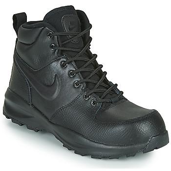 Cipők Gyerek Rövid szárú edzőcipők Nike MANOA LTR GS Fekete