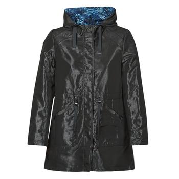 Ruhák Női Parka kabátok One Step FR42001 Fekete