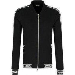 Ruhák Férfi Melegítő kabátok Balmain RH08900 Fekete