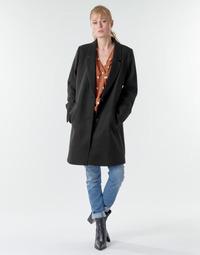 Ruhák Női Kabátok Esprit LL* BASICBLZRCT Fekete