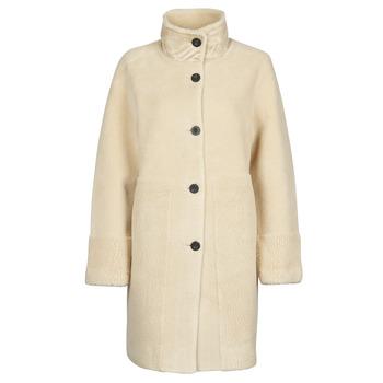 Ruhák Női Kabátok Esprit LL* FAKE FUR Bézs