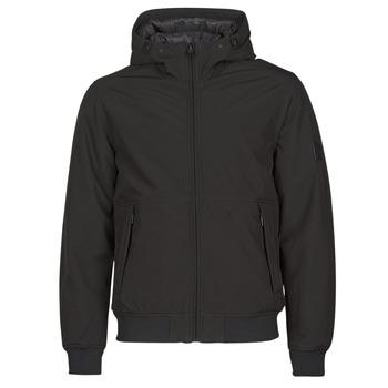 Ruhák Férfi Steppelt kabátok Esprit LL 3LSOFTSHEL Fekete
