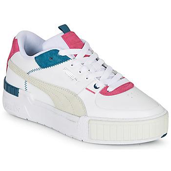 Cipők Női Rövid szárú edzőcipők Puma CALI SPORT Fehér / Szürke