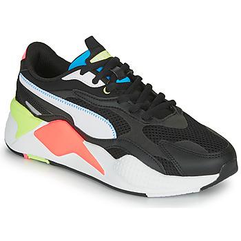 Cipők Rövid szárú edzőcipők Puma RS-X3 Fekete  / Fehér / Korall