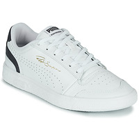 Cipők Rövid szárú edzőcipők Puma RALPH SAMPSON LO Fehér / Kék