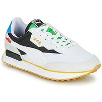 Cipők Rövid szárú edzőcipők Puma FUTURE RIDER Unity Collection Fehér / Fekete