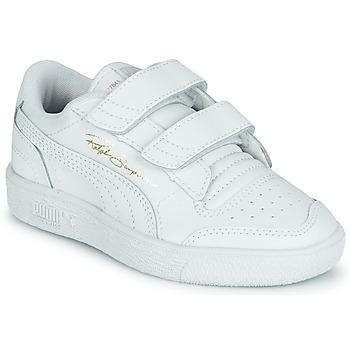 Cipők Gyerek Rövid szárú edzőcipők Puma RALPH SAMPSON LO PS Fehér