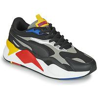 Cipők Rövid szárú edzőcipők Puma RS-X3 Fekete  / Piros / Citromsárga