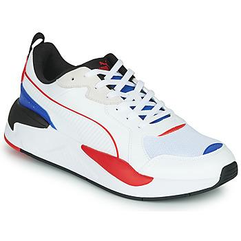 Cipők Férfi Rövid szárú edzőcipők Puma X-RAY Fehér / Kék / Piros