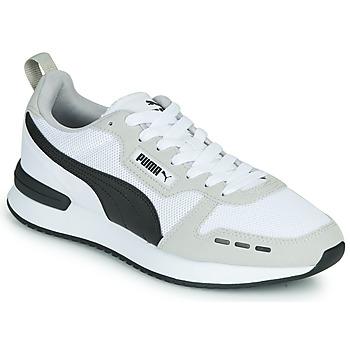Cipők Férfi Rövid szárú edzőcipők Puma R78 Fehér / Fekete