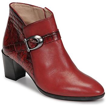 Cipők Női Bokacsizmák Hispanitas PIRINEO Piros