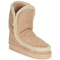 Cipők Női Csizmák Mou ESKIMO 24 Bézs