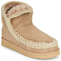 Cipők Női Csizmák Mou ESKIMO 18 Bézs