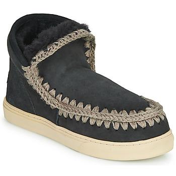 Cipők Női Csizmák Mou ESKIMO SNEAKER Fekete