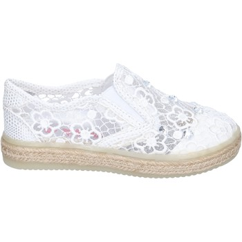 Cipők Lány Belebújós cipők Asso BM446 Fehér