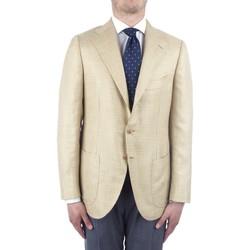 Ruhák Férfi Kabátok / Blézerek Cesare Attolini S20MA43 Yellow