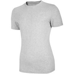Ruhák Női Rövid ujjú pólók 4F TSM003 Szürke