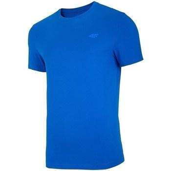 Ruhák Férfi Rövid ujjú pólók 4F TSM003 Kék