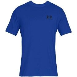 Ruhák Férfi Rövid ujjú pólók Under Armour Sportstyle Left Chest Kék