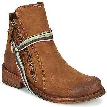 Cipők Női Csizmák Felmini COOPER Teve
