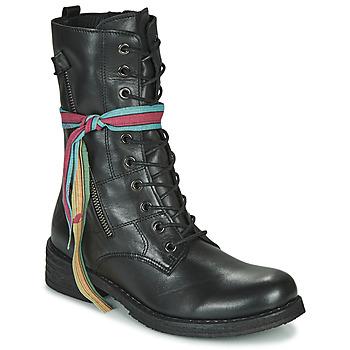 Cipők Női Csizmák Felmini COOPER Fekete