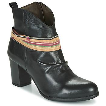 Cipők Női Bokacsizmák Felmini EMORI Fekete