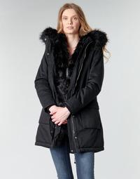 Ruhák Női Parka kabátok Betty London NIETTE Fekete