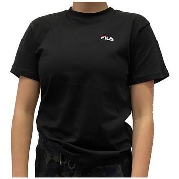 Ruhák Női Rövid ujjú pólók Fila Eara Tee Czarne