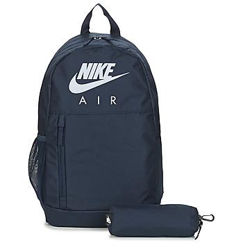 Táskák Hátitáskák Nike Y  ELMNTL BKPK - GFX FA19 Kék