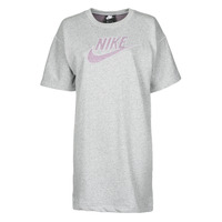 Ruhák Női Rövid ruhák Nike W NSW DRESS FT M2Z Szürke