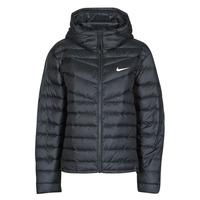 Ruhák Női Steppelt kabátok Nike W NSW WR LT WT DWN JKT Fekete