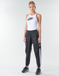 Ruhák Női Futónadrágok / Melegítők Nike W NSW PANT WVN Fekete