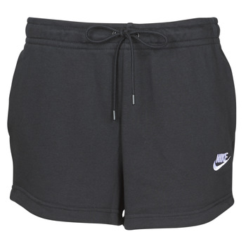 Ruhák Női Rövidnadrágok Nike W NSW ESSNTL SHORT FT Fekete