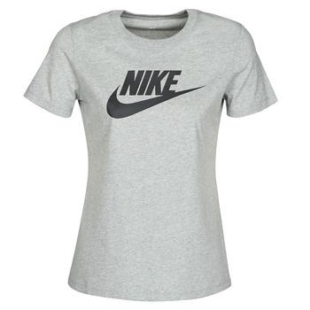 Ruhák Női Rövid ujjú pólók Nike W NSW TEE ESSNTL ICON FUTUR Szürke
