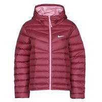Ruhák Női Steppelt kabátok Nike W NSW WR LT WT DWN JKT Bordó