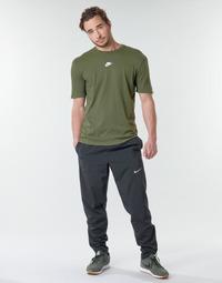 Ruhák Férfi Futónadrágok / Melegítők Nike M NK RUN STRIPE WOVEN PANT Fekete