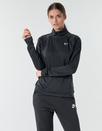 Ruhák Női Hosszú ujjú pólók Nike W NK PACER HZ Fekete