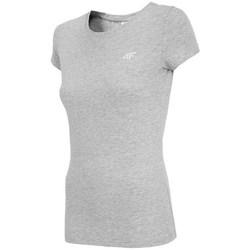 Ruhák Női Rövid ujjú pólók 4F TSD001 Szürke