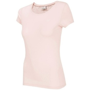 Ruhák Női Rövid ujjú pólók 4F TSD001 Rózsaszín