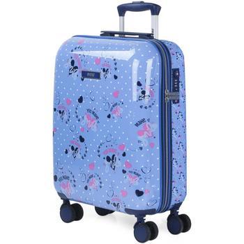 Táskák Lány Keményfedeles bőröndök Skpat MOSOLY 34 L Kék