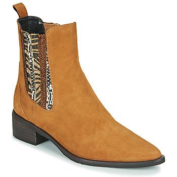 Cipők Női Csizmák Regard BASTIA V3 VEL HAVANE Barna