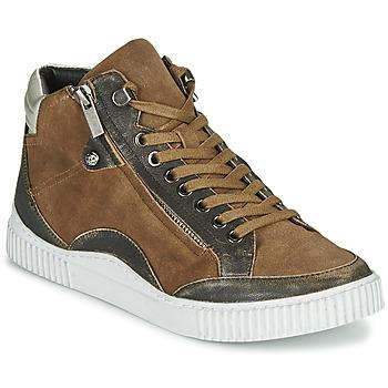 Cipők Női Magas szárú edzőcipők Regard ISLANDE V2 BONGO CHAMOIS Barna