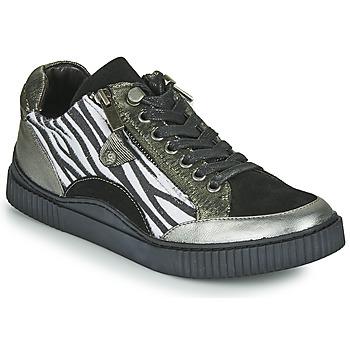 Cipők Női Rövid szárú edzőcipők Regard IDEM V5 CRIS ACERO Fekete
