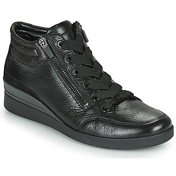 Cipők Női Magas szárú edzőcipők Ara LAZIO-ST-HS Fekete