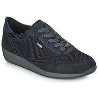 Cipők Női Rövid szárú edzőcipők Ara LISSABON-FUSI4-GOR Fekete