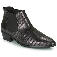 Cipők Női Csizmák Fericelli NANARUM Fekete  / Ezüst